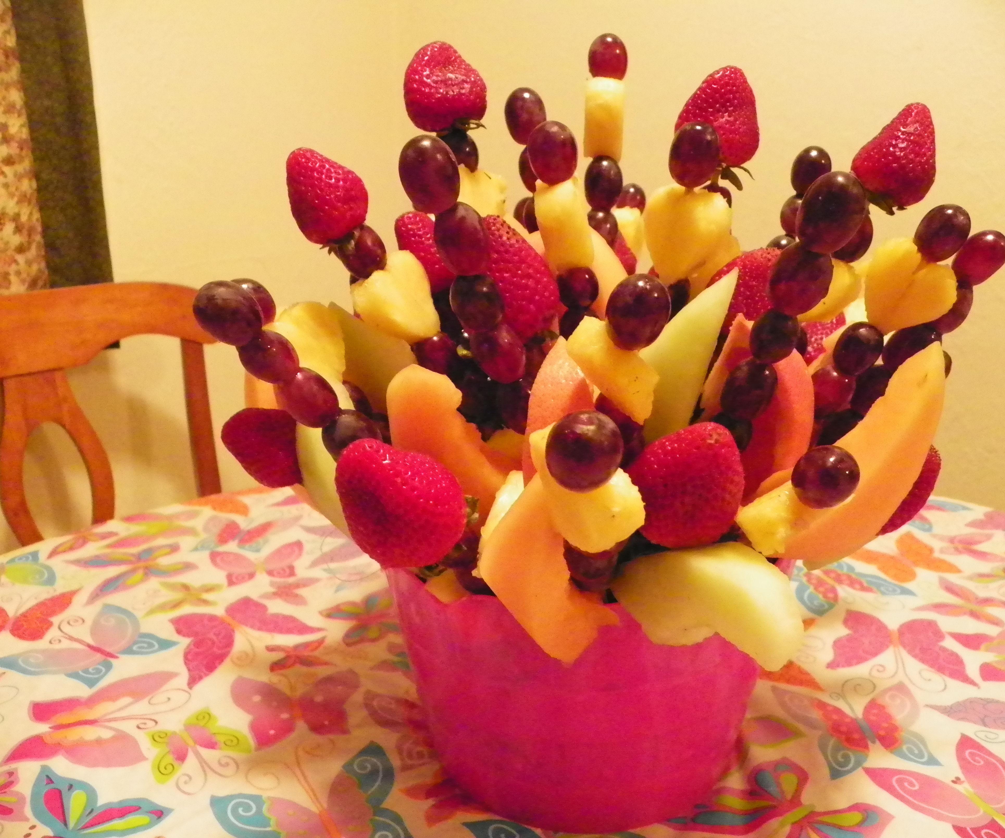 Beautiful Fruit Bouquet