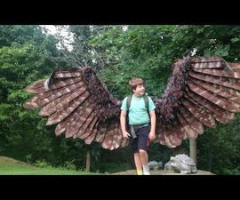 Articulating Electric Mechanical Wings