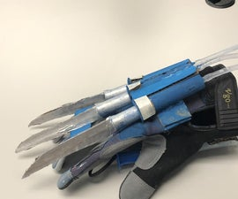 Hydraulic Extendable Wolverine Claws