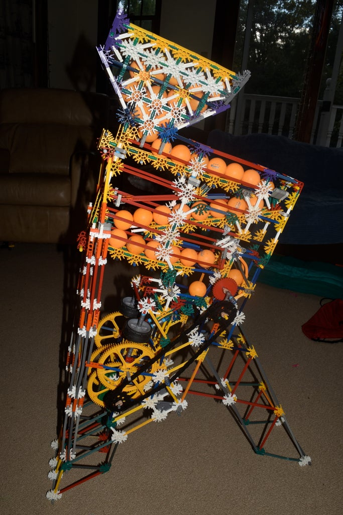 K'nex Flywheel Powered Machine Gun