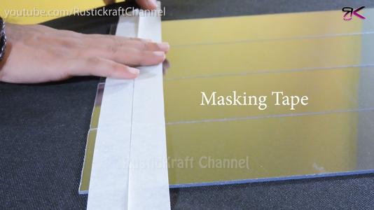 Squaring Up the Acrylic Sheet