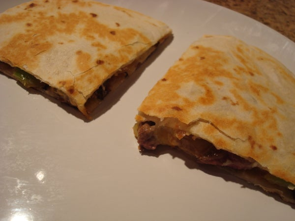 The Ultimate Steak Quesadilla