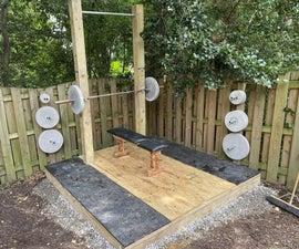 Outdoor Weightlifting Platform