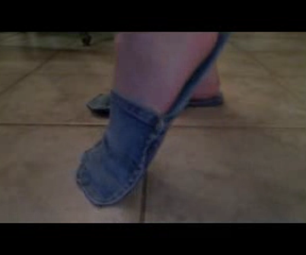 How to Make Shoes Out of a Pair of Jeans