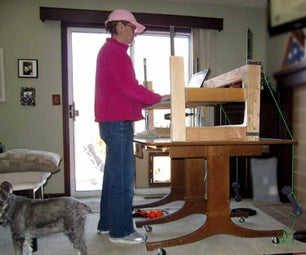 Stand Up/Sit Down Desk Top