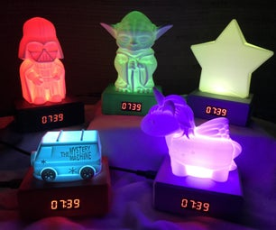 Kids Light Up Clock 2.0