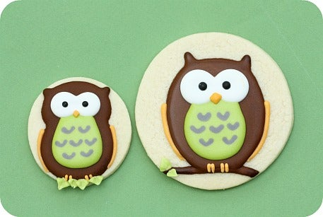 How to Decorate Owl Cookies