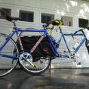 Haul an extra bike on the Xtracycle - Easy fork mount carrier