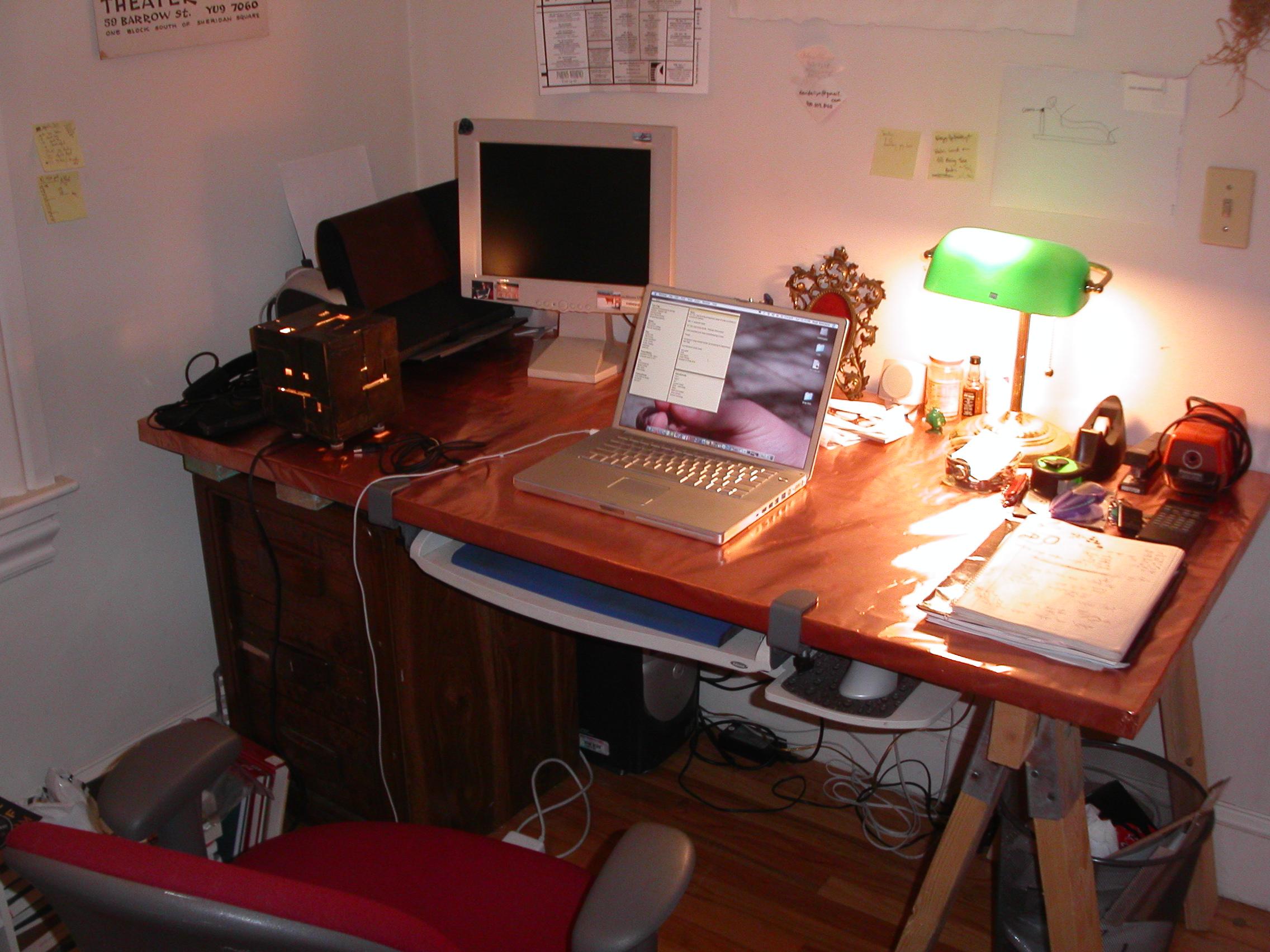Copper Foil Desk