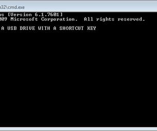 Copy an USB Drive With a Shortcut Key