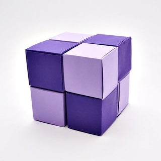 Paper Infinity Cube
