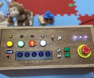 儿童电子按钮忙碌板-第1代