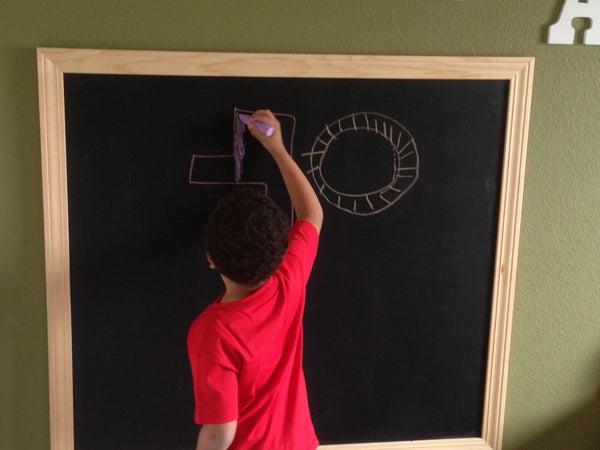 Easy Chalkboard in a Weekend