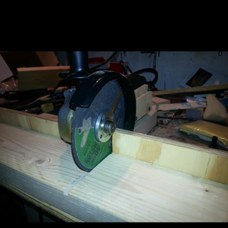 Cross Cut Saw - Homemade