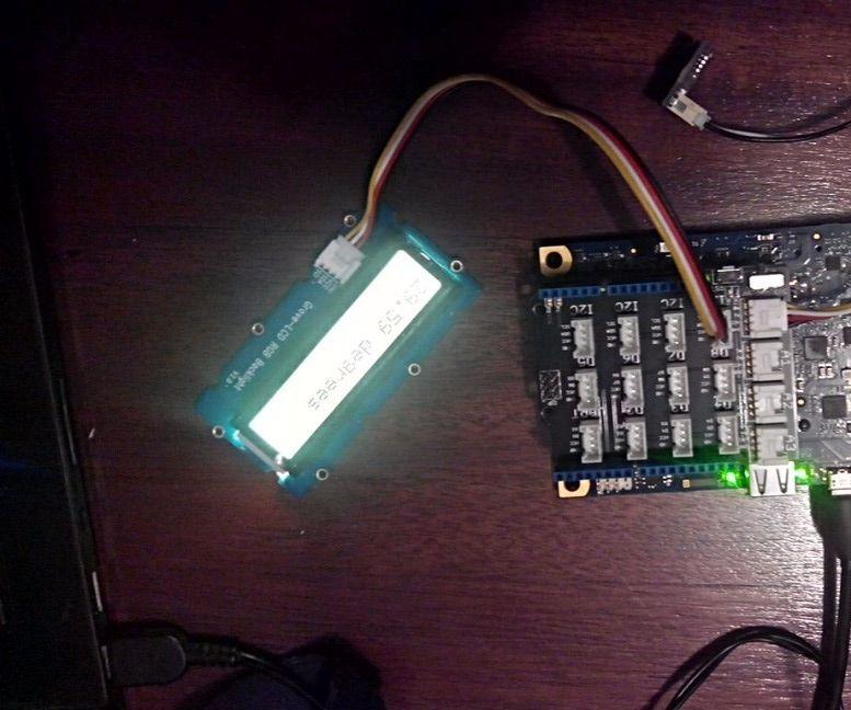 Display Temperature using Intel Galileo