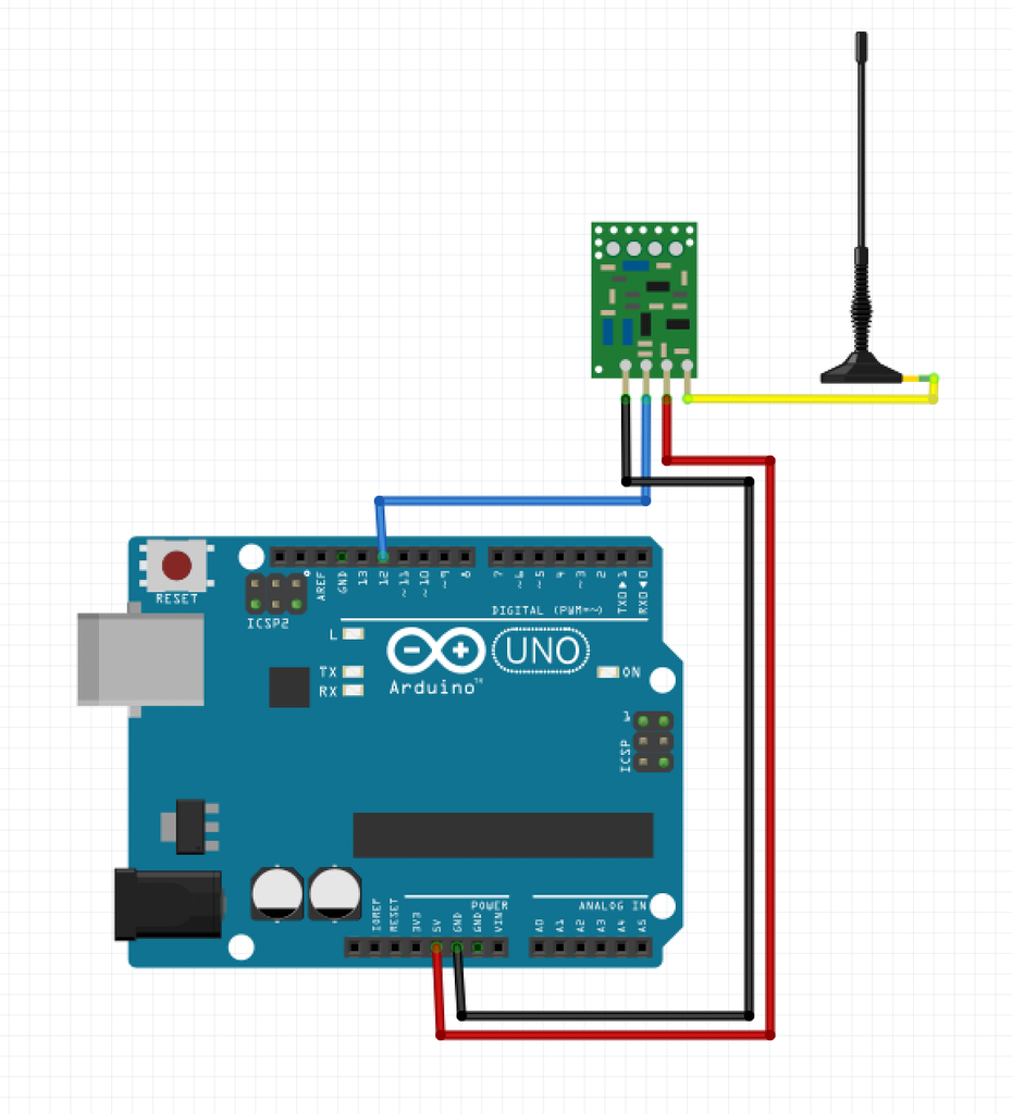 Transmitter Module Connections