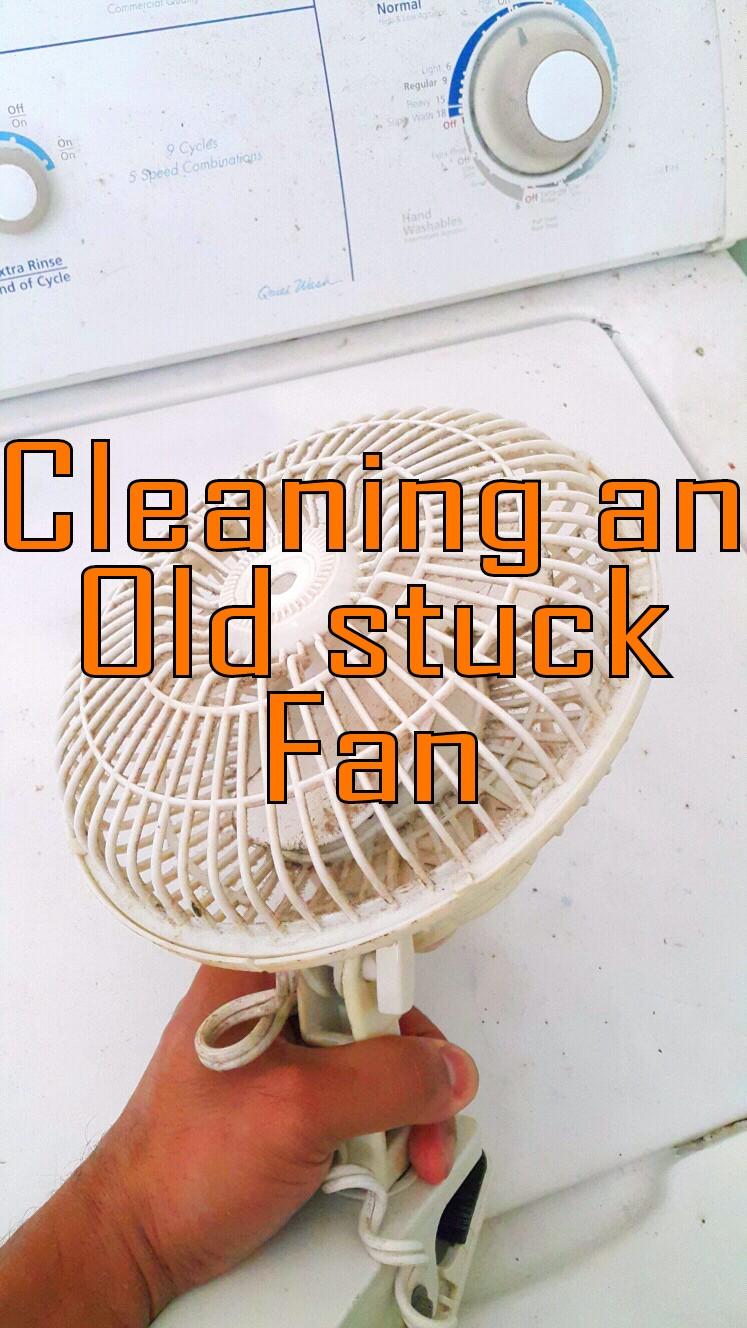 Servicing an Old Fan.