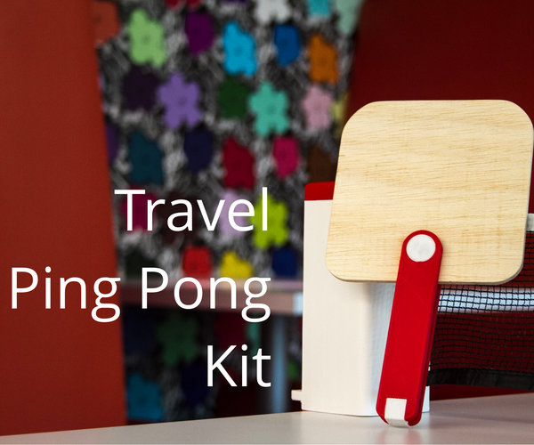 Fusion 360: Portable Ping Pong Kit