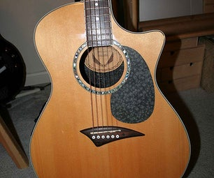Mousepad As Guitar Pickguard
