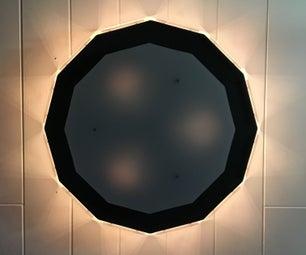 Dodecagon Light With RGB, Lightbulbs and Wifi