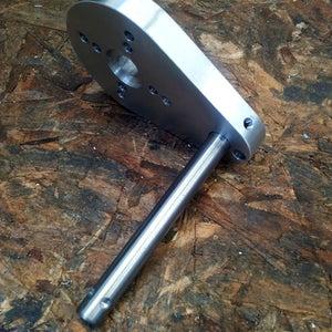 Aluminium Motor Mount and Pivot Shaft Sub Assembly