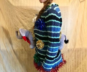 Breakthrough Stuffed Animal Ugly Sweater