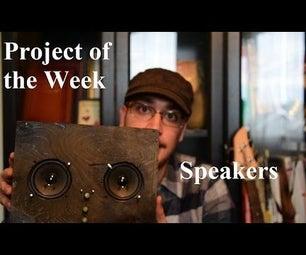 DIY Speakers How To