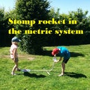 Stomp Rocket in the Metric System
