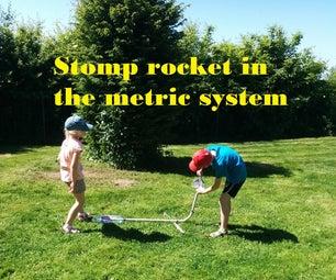 在公制系统中的Stomp火箭