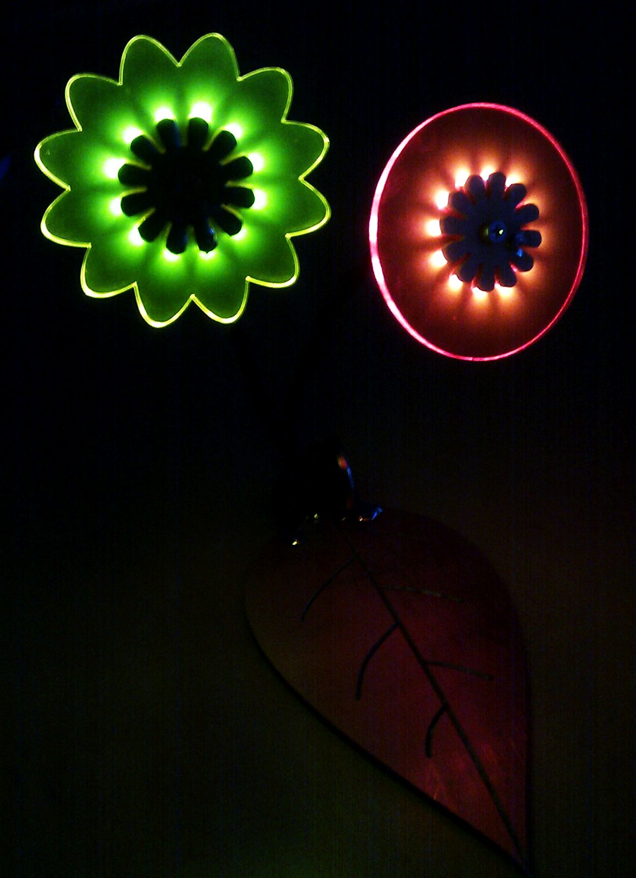 Acrylic flowers of SMD LEDs