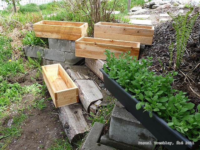 Window boxes / Planters / Flower Boxes - Building Plan