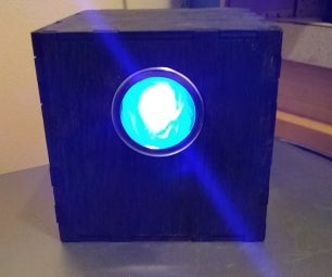 Supervisor Eric Inspired LED Cube (People of Earth)