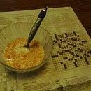 Newspaper Puzzle Spoon