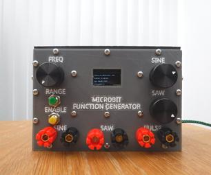 Microbit Function Generator