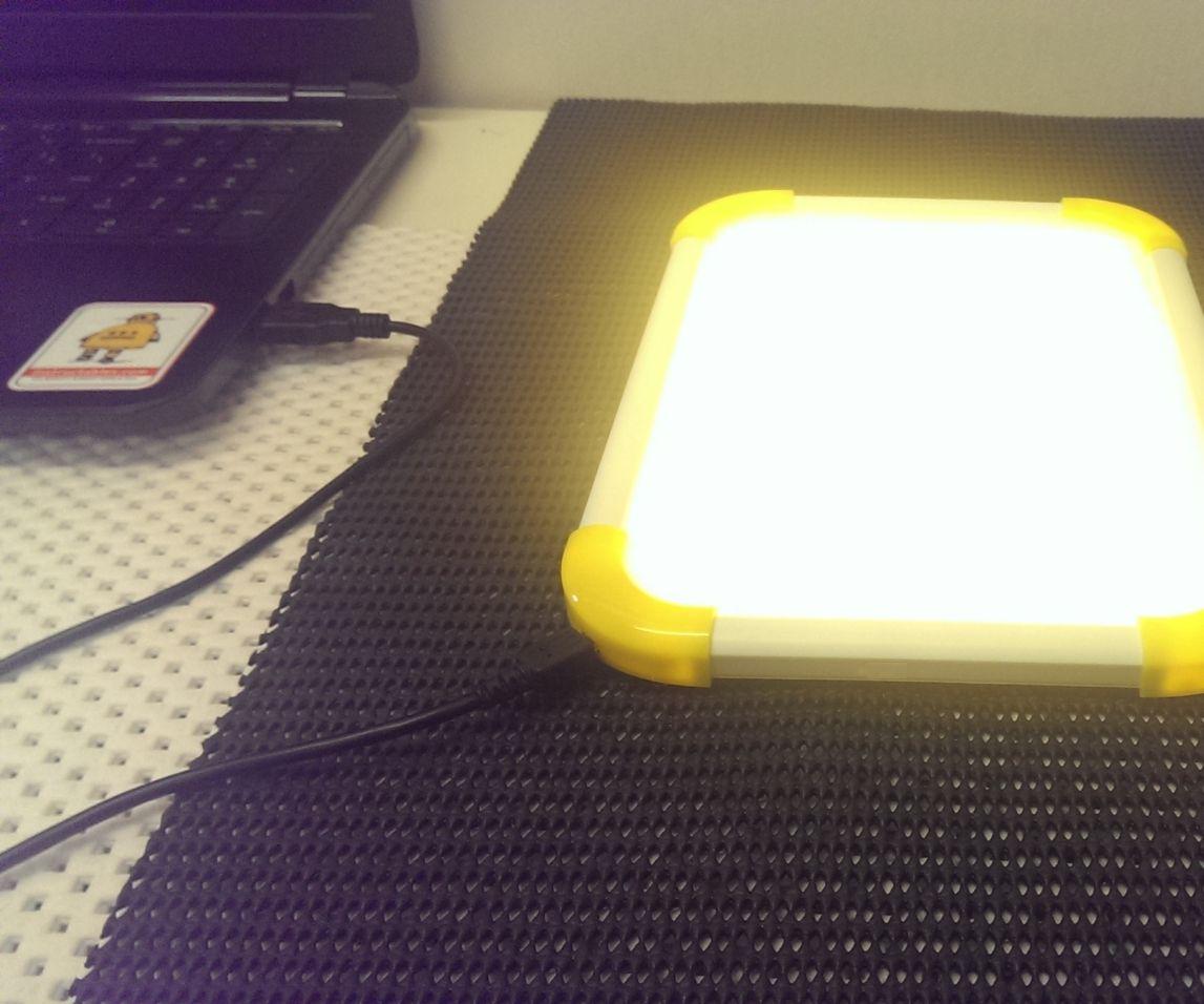 USB powered LED Tracing Light Box