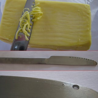 Make a Butter Knife for Spreading Cold, Hard Butter