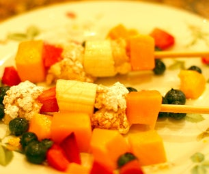 Cheesecake Fruit Kabobs