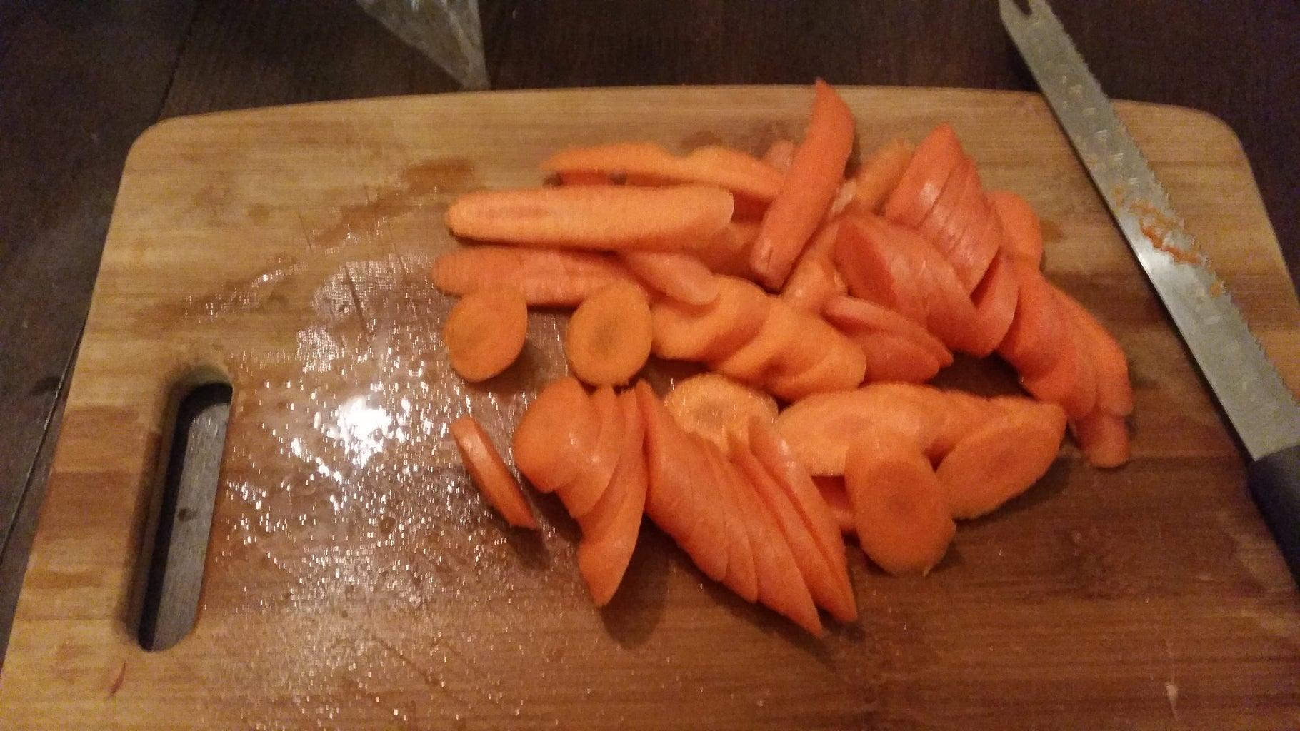 Wash and Cut Veggies.