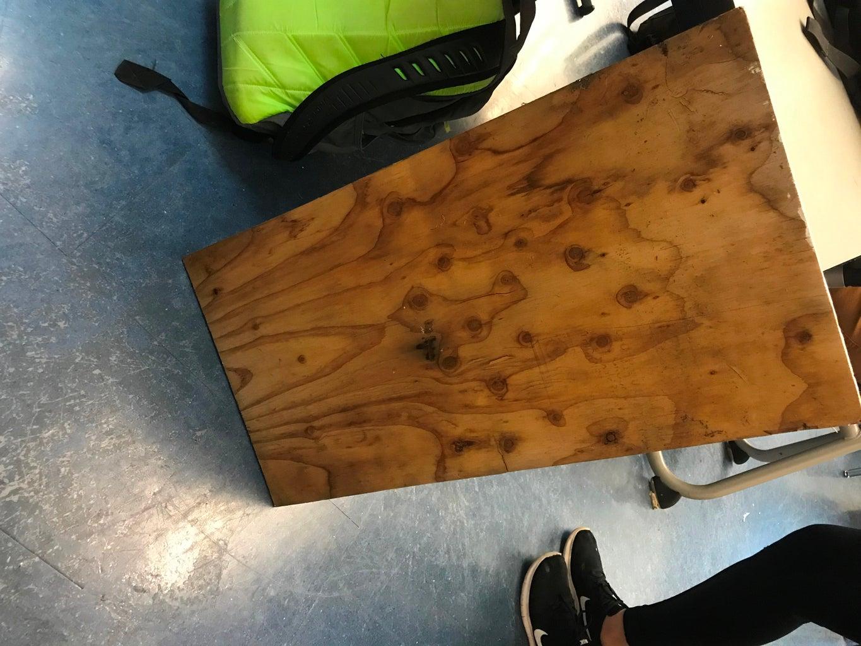 Obtain Plywood; Then Paint