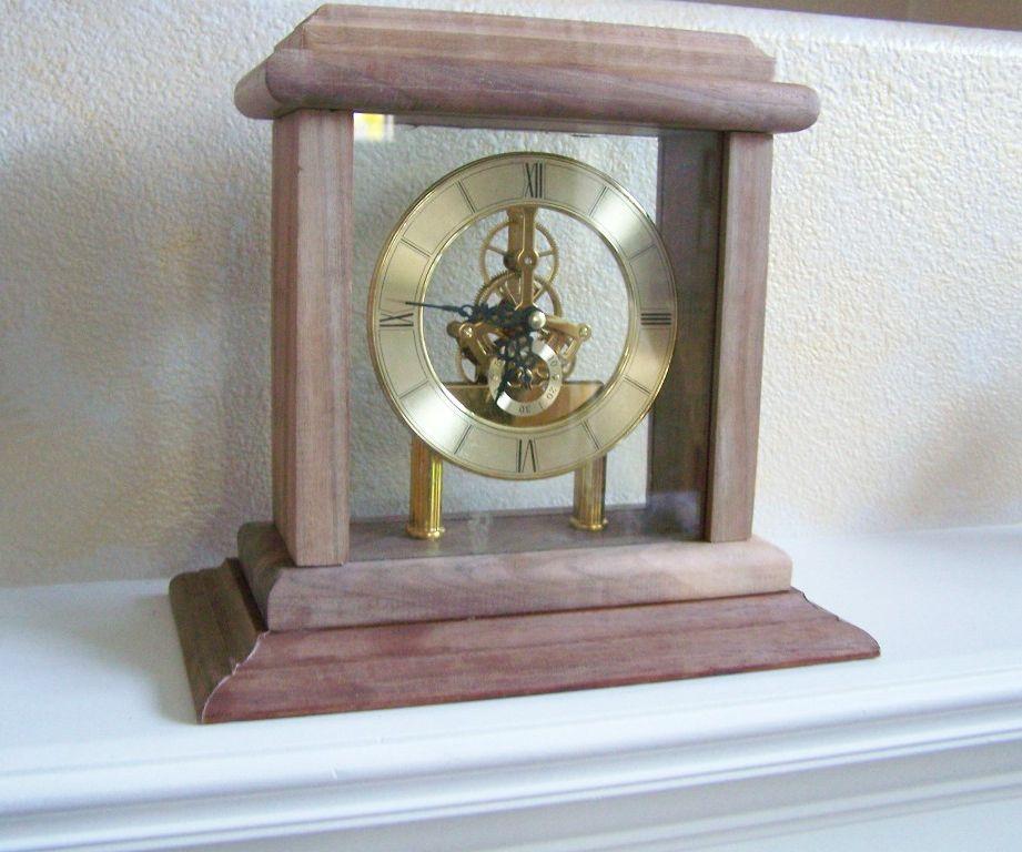 Mantel Clock Case