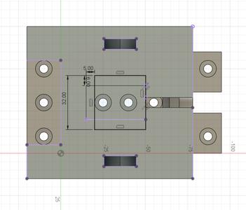 Design Process - Stationary Fixture - Top Cutout