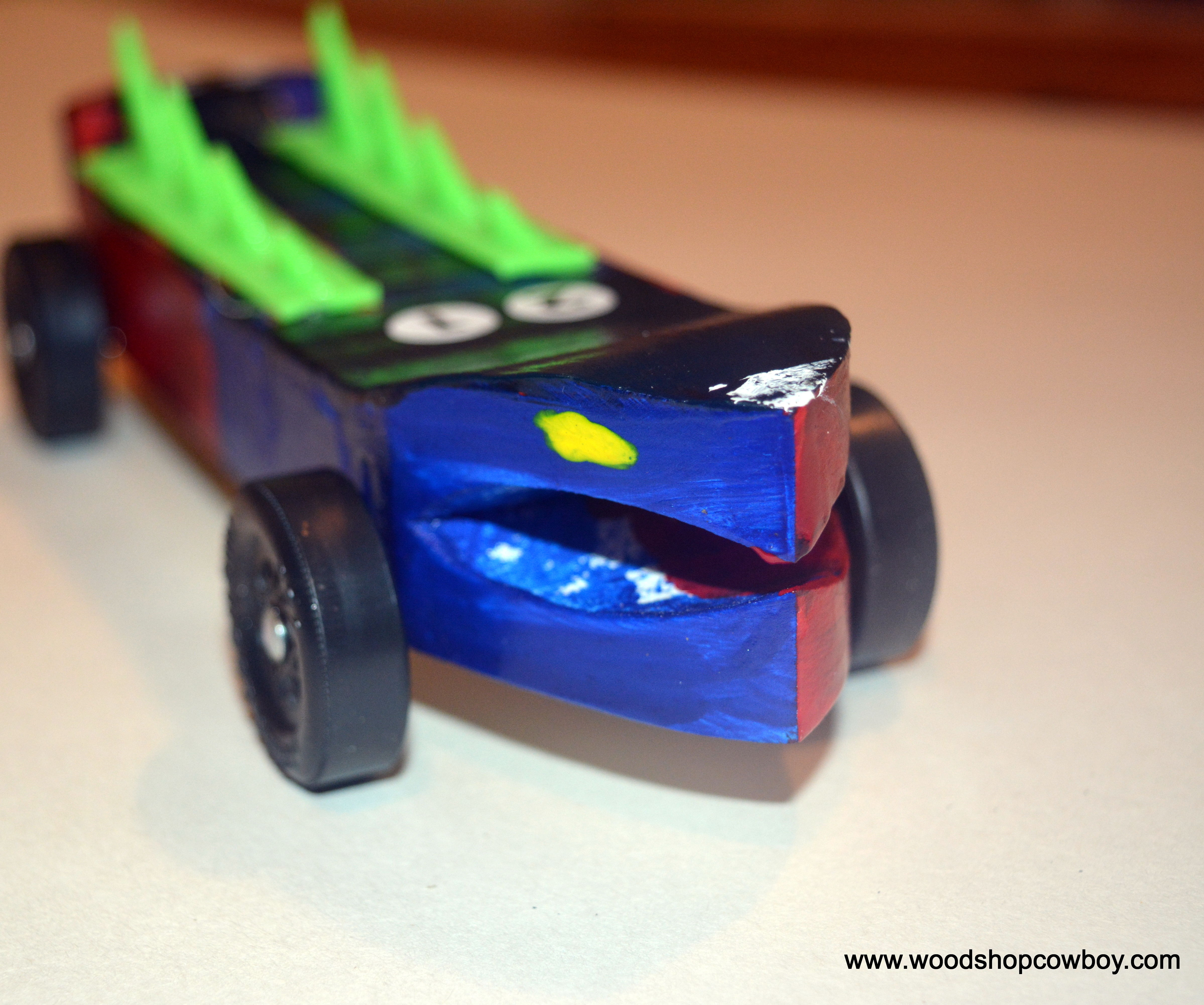 Pinewood Derby Car (Made by Young Makers)