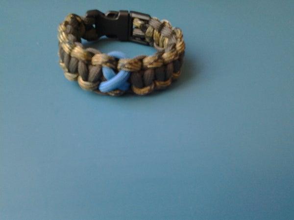 Basic Cobra Hydrosephalus Awareness Bracelet