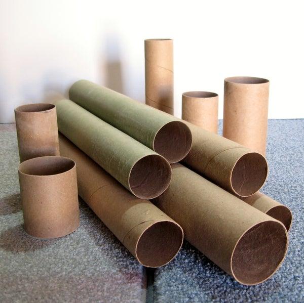 Make Your Own Kraft Paper Tubes