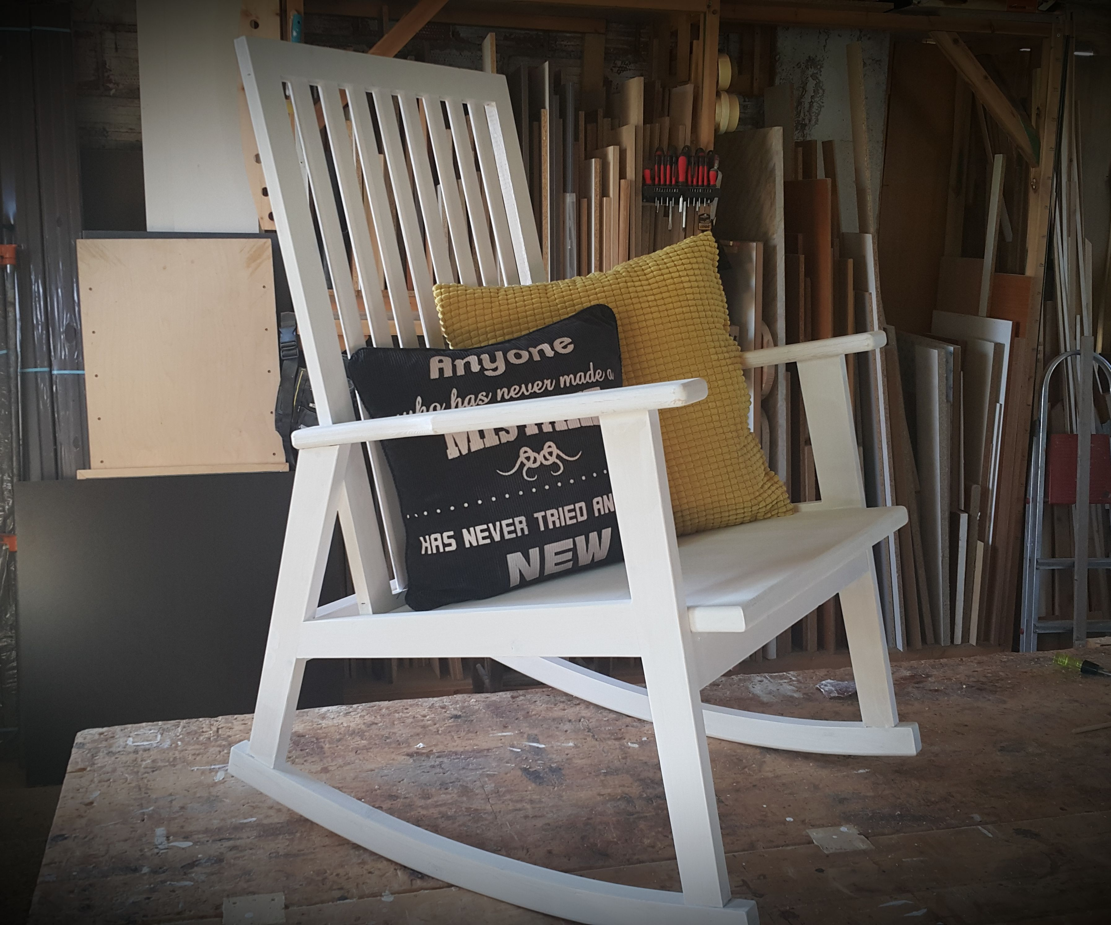 Picture of: Wooden Rocking Chair 10 Steps With Pictures Instructables