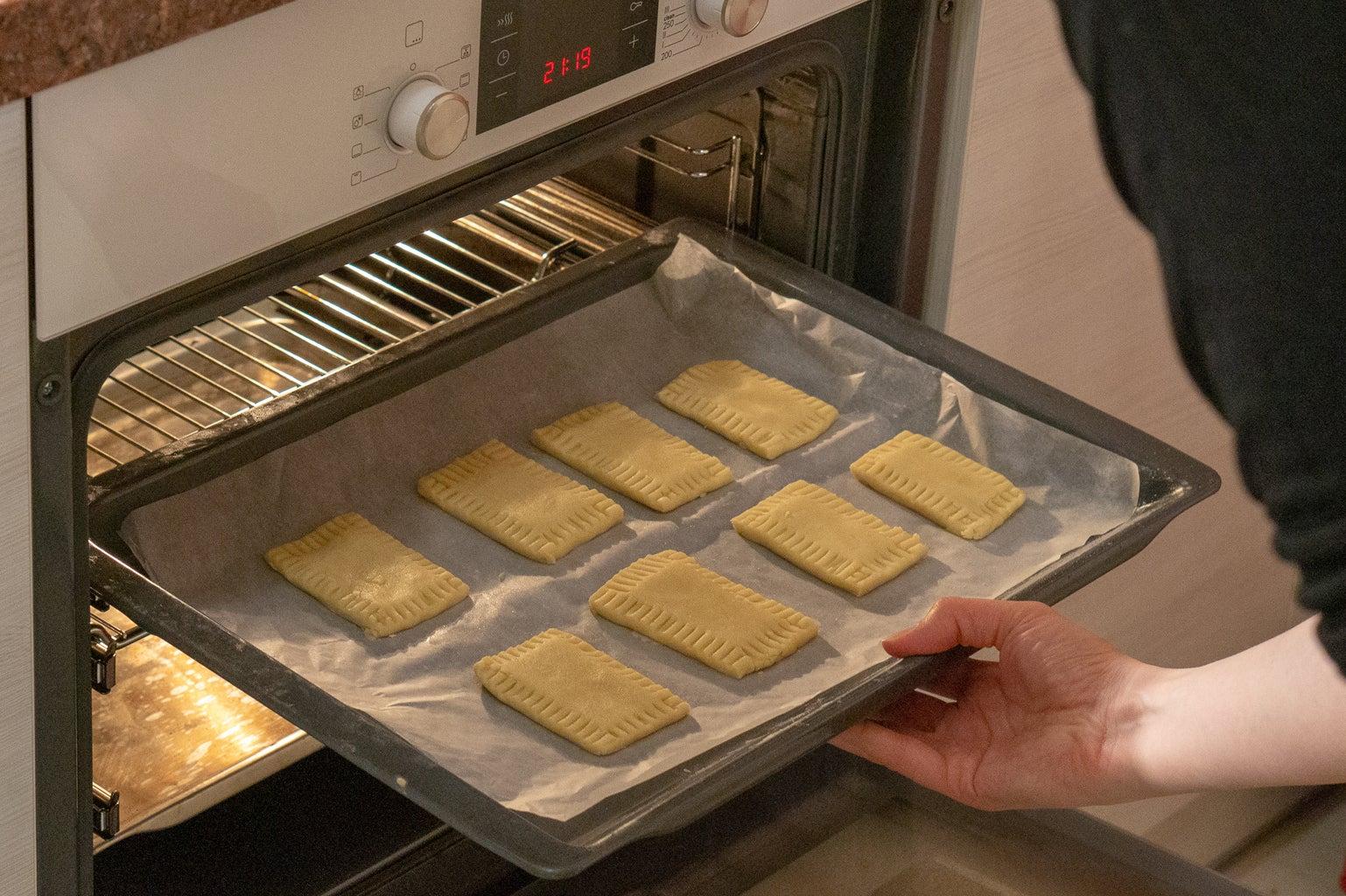 Bake at 180C (350F)