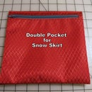 How to Make a Double Pocket for a Snow Skirt