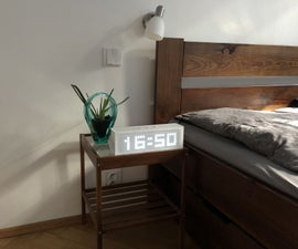 LED Matrix Alarm Clock (with MP3 Player)