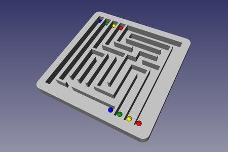 Built! Now Go Solve the Maze....