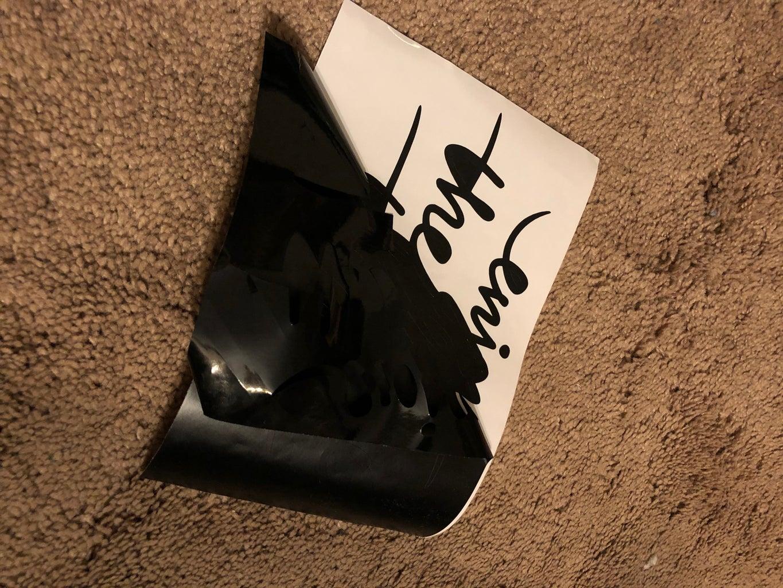 Peel Off the Vinyl